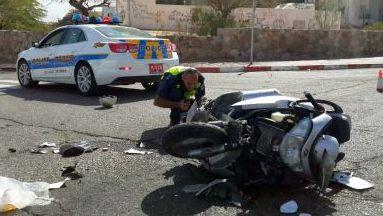 תאונת דרכים ליד שחרות