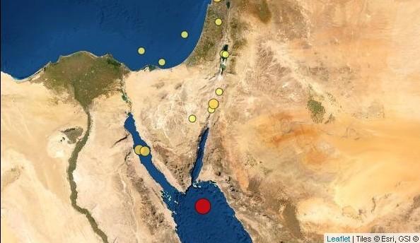 רעידת אדמה בערבה