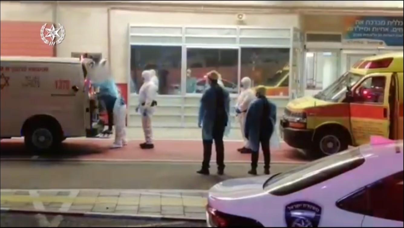 המשטרה נאלצה לפנות לאישפוז כפוי שני חולי קורונה שסירבו להתפנות מאילת