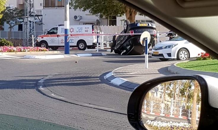 תאונת דרכים בעציון גבר באילת