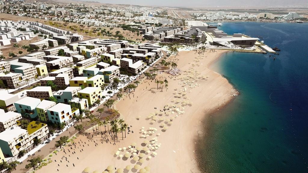 חוף הדקל חוזר לרשות המדינה חברת נמלי ישראל תעביר 235 דונם ועיריית אילת תהנה