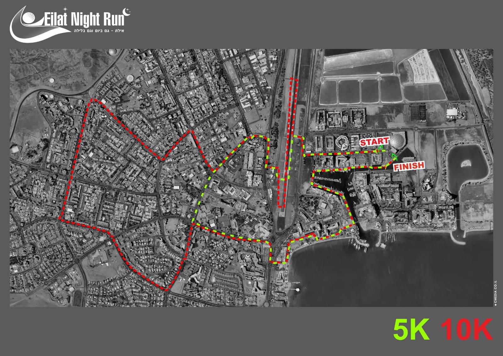 מרוץ אילת הרביעי - אלו הכבישים שיסגרו