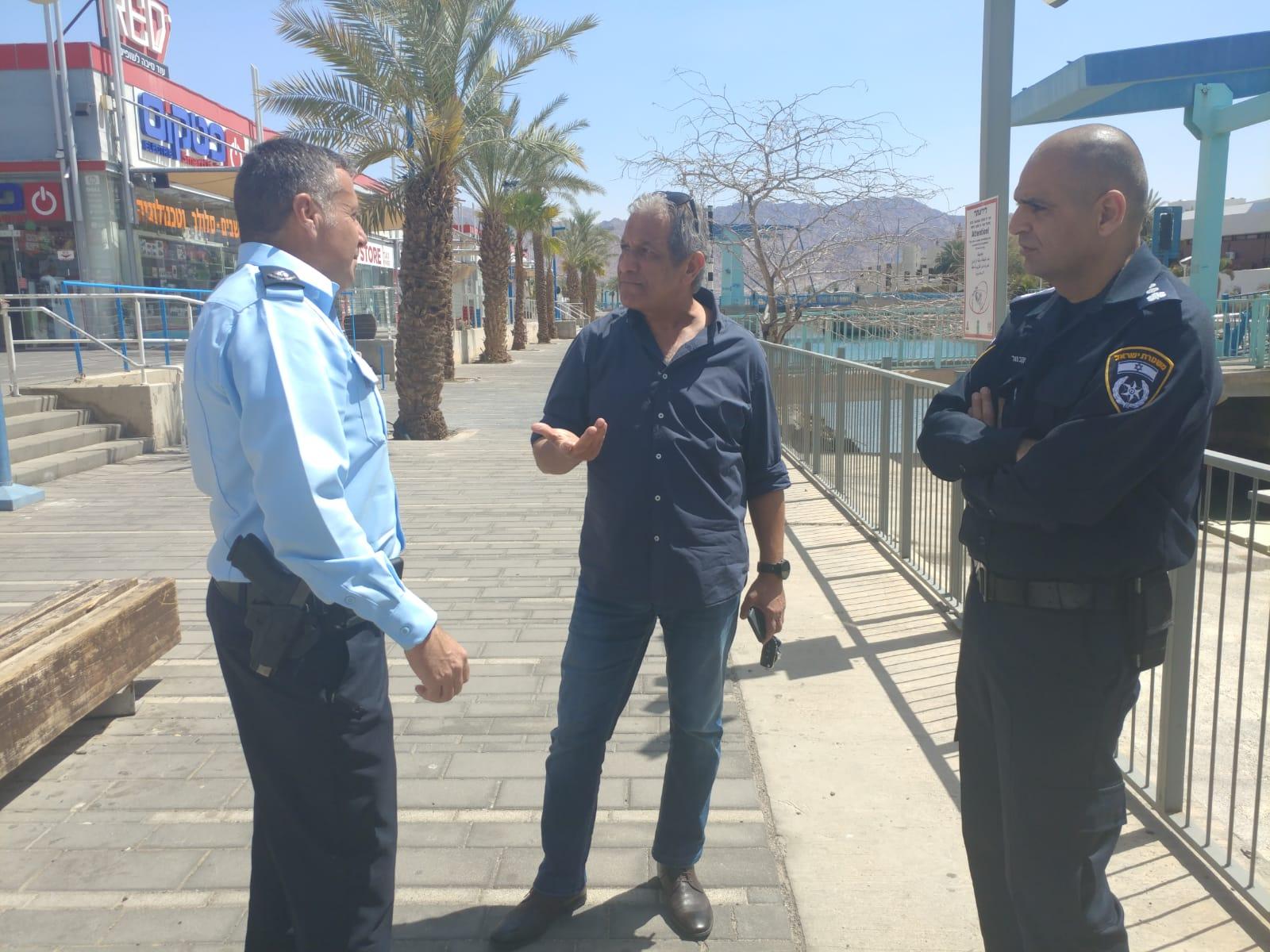 במשטרה מודים: אילת מושבתת כליל בשל הסופה והקורונה