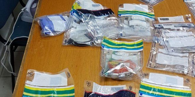 נתפסו שני חשודים בדרך לאילת עם כמות גדולה של סמים