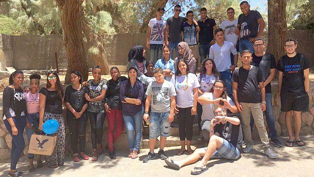 תלמידי אילת נפגשו עם תלמידי רהט
