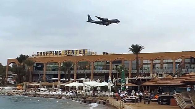 תיעוד בלעדי: מטוס נשיא פיג'י נוחת במפתיע באילת