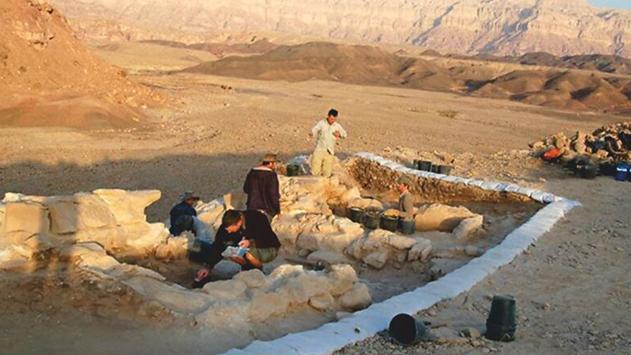 חומה מימי דוד המלך  נחשפה באזור אילת