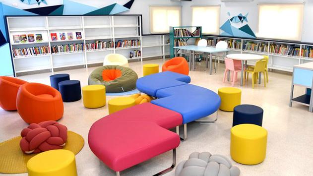 נחנכה הספרייה החדשה  בבית ספר אלמוג
