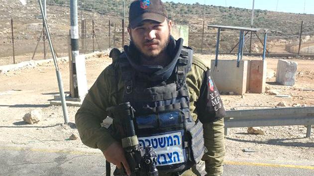 חייל צה''ל מאילת הציל תינוק פלסטיני