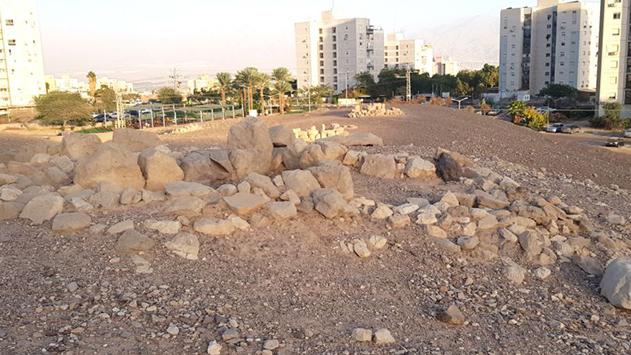 הושחת אתר קבורה ארכיאולוגי באילת