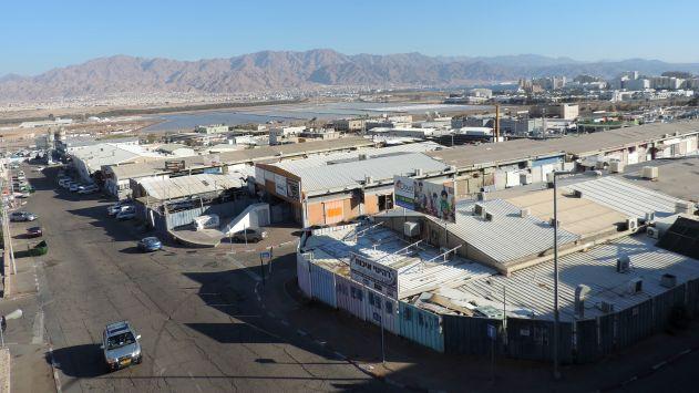 תוספת שטחי מסחר לאילת: בדרך  משדה רמון יוקם מרכז מסחרי ענק
