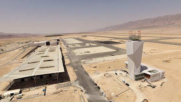 לראשונה תקום בשדה  התעופה רמון תחנת מוניות