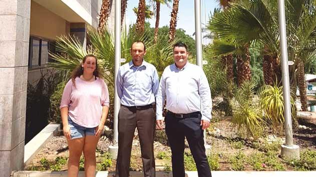 קמפוס בן גוריון באילת: המוסד הראשון בישראל להניף את דגל העדה הדרוזית כאות תמיכה
