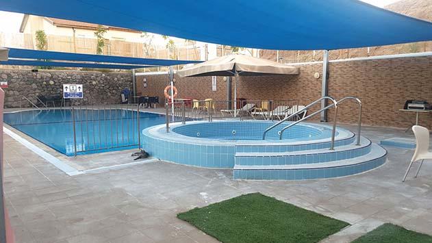 אחרי שנים של תכנון, נפתחה הבריכה במרכז יום לקשיש