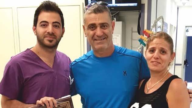 ד''ר ראמי גנאים, רופא מתמחה ב'יוספטל' הציל את חייו של תושב אילת