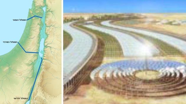 האם נסוגה ישראל מפרויקט תעלת הימים?