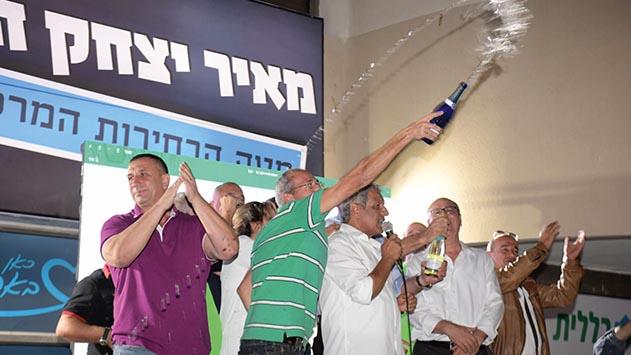 מאיר יצחק הלוי נכנס למועדון ראשי הערים המיתולוגיים