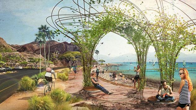 מקדמים את פיתוח רצועת חוף אילת