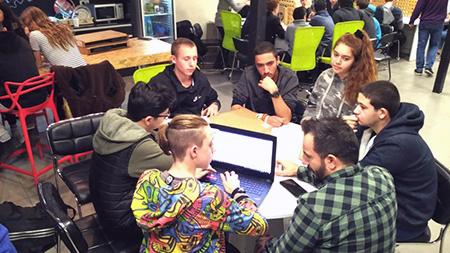 תלמידי נטע יוצרים פרויקטים חכמים