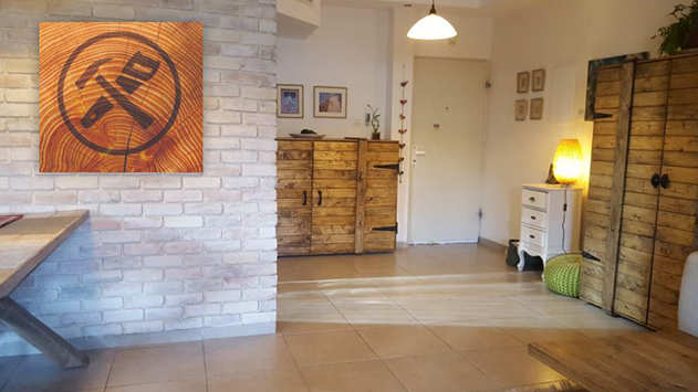 ישראל פריד – עבודות עץ