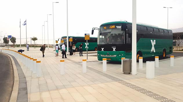 אפליה: אוטובוסי אגד הבינעירוניים ולנמל התעופה רמון אינם מונגשים לנכים