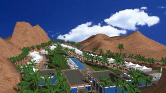 על סמך מה אושרה הקמת בריכות שחייה במלון שיוקם בחוות היען?