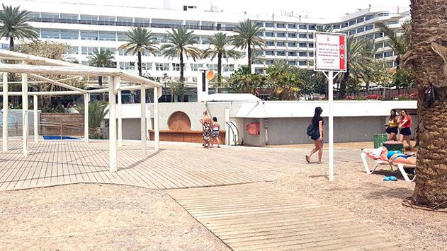 אודי חמו : ''תנאים במכרז להפעלת חוף נפטון מתאימים לאדם אחד''