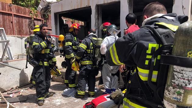 חשד: פיצוץ הגז באילת בשל הכנסת בלון הגז לדירה