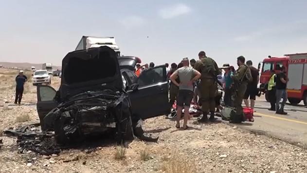88 צעירים נפגעו בעשור האחרון בתאונות רכב דוד גלגלי באילת