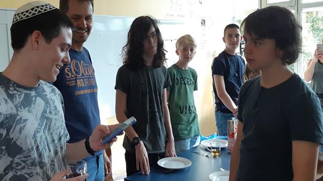 חילופי משלחות בין בני נוער מאילת לגרמניה
