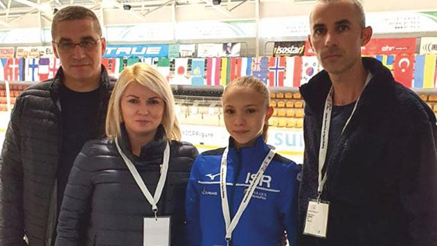 היסטוריה מקומית - איווטה ברקוביץ בתחרות גראנד פרי בריגה