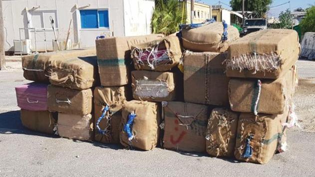 סוכלה הברחת סמים קלים בגבול ישראל מצרים