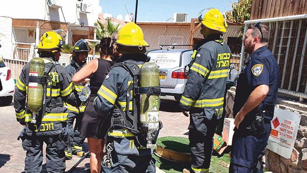 צוות כיבוי אש טיפל בשריפות שפרצו בשתי דירות