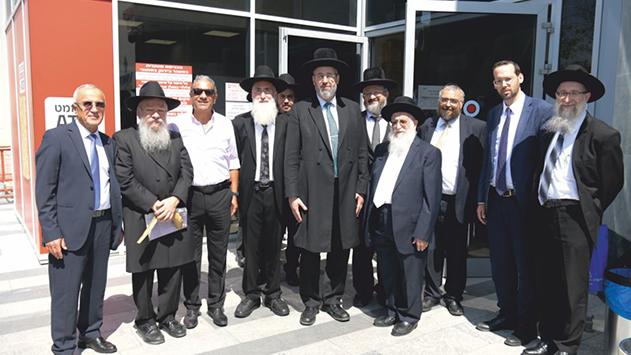 נחנך בית הדין הרבני הראשון באילת
