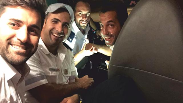 ארבעה מצילי ים הצילו מטביעה במסגרת התנדבותם במד''א
