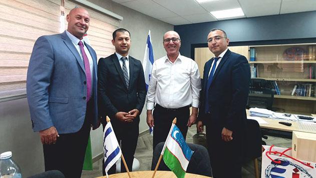 מחזקים את הקשר עם אוזבקיסטן
