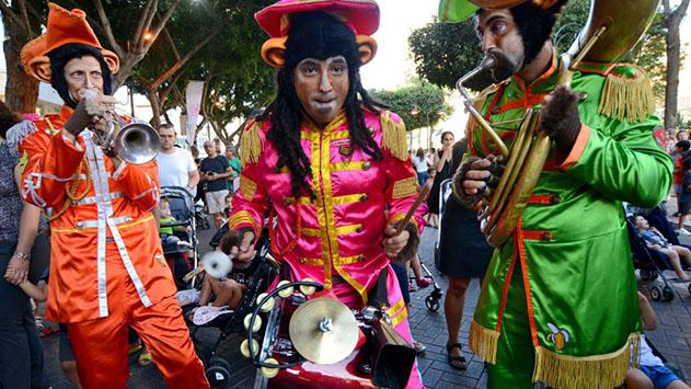 פסטיבל תיאטרון הרחוב חוזר