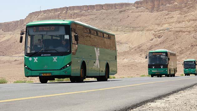 חודש קו האוטובוס  מפתח תקווה לאילת