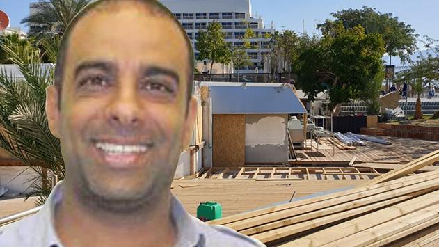 בית המשפט עצר את  העבודות במזנון חוף נפטון