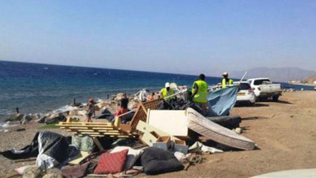 עיריית אילת לא ביקשה תקציב ייעודי לניקוי חופיה  מהמשרד לאיכות הסביבה