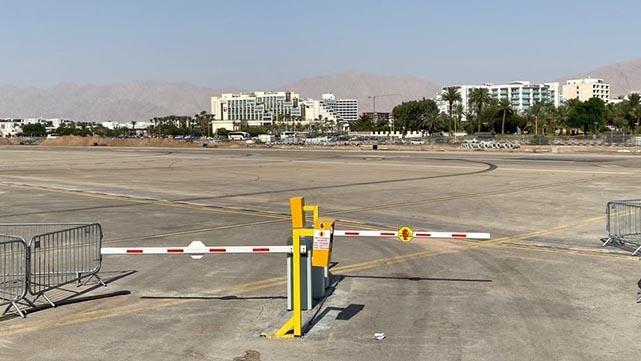 העירייה הפכה את שטח שדה  התעופה הישן לחניון ענק