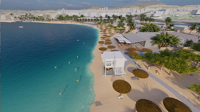 אושרה תכנית שיקום ופיתוח רצועת החוף של אילת