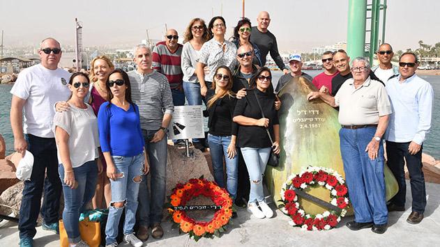 ושוב, מי יחזיר את האנדרטה  של דדי שיינבלט ז''ל למרינה?