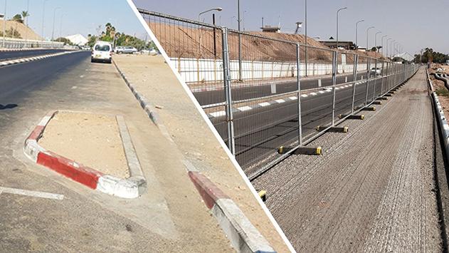 העירייה השיבה את מפרצי  החניה בחוף קצא''א