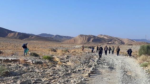 מאה בלתי מועסקים החלו בעבודה  למען הטבע והמורשת – גם בהרי אילת