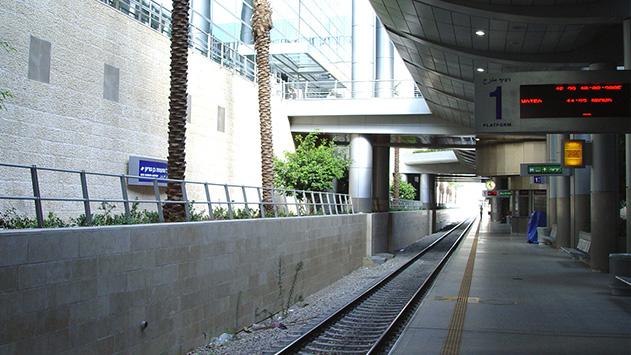 לאן נעלמה הרכבת לנתב''ג?