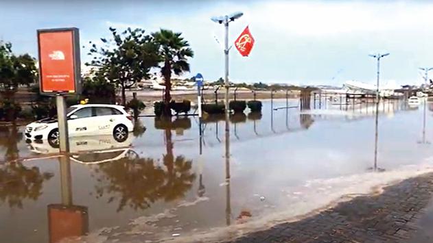 האם שטח השדה המתפנה  ערוך מפני הצפה במקרה  של שיטפונות?