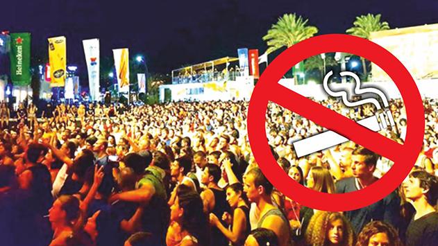 האם מותר או אסור לעשן  בפסטיבל הבירה באילת?