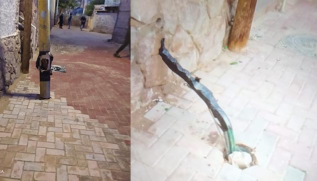הוחמר מפגע התאורה ברחוב חורב