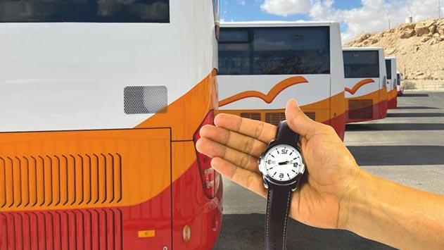 רק 42% מקווי האוטובוסים בחבל אילות מגיעים בזמן